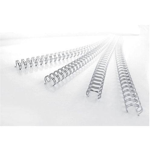 GBC RG810597 8MM Silver Wire Binders