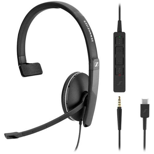 EPOS Sennheiser SC165 USB-C Stereo Headset