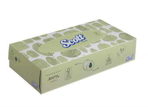 Scott Facial Tissue Std 100 Sheets 8837