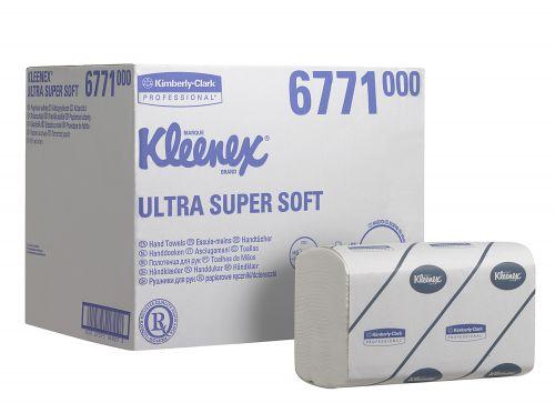 Kleenex 3Ply Wht Ultra Hand Towel Pk30