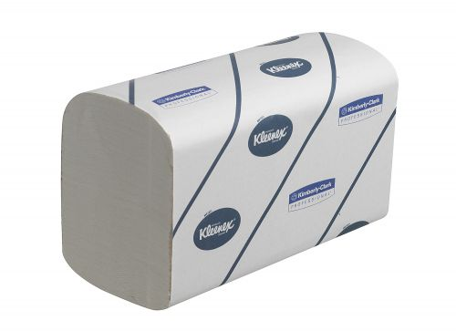 Kleenex Ultra 2 Ply White Hand Towel 124 Sheets (Pack of 15) 6778