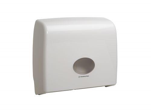 Kimberly-Clark AQUARIUS* Jumbo Non-Stop Toilet Tissue Dispenser W445xD129xH380mm White Ref 6991