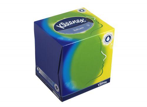 KLEENEX Facial Tissue Cube White (12) 8825