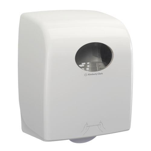 Kimberly Clark AQUARIUS Rolled Hand Towel Dispenser W309xD240xH382mm White Ref 7375