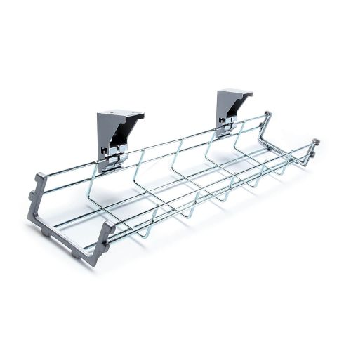 L&P Libra Wire Mesh Cable Tray for 1400mm Workstation