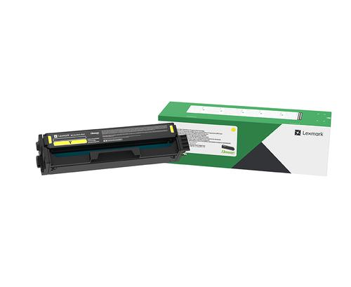 LEXMARK C332HY0 YELLOW HIGH RTN TON 2.5K