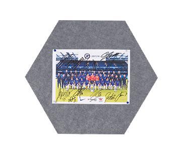 Felt MagiShape small Hexagon board 50x43cm Dark Grey PK3