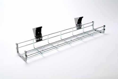 Wire Cable Basket, 1200W, Chrome