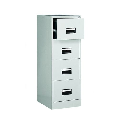 Contract 4 Drawer Filing Cabinet 1321H X 460W X 620D Grey