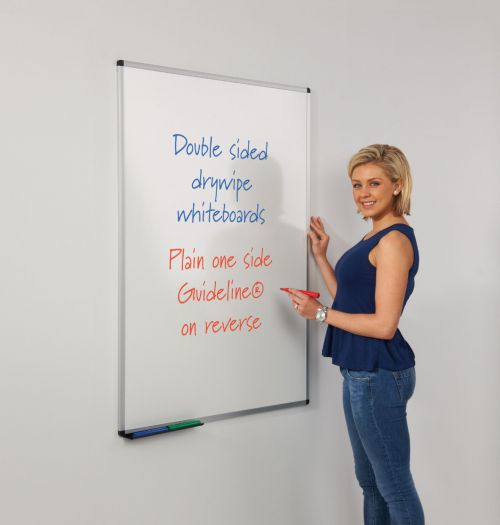 WriteOn Dual Faced Whiteboard - 900 x 600mm