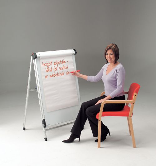 Image for Conference Pro Flip Chart Easel - 3 Year Guarantee