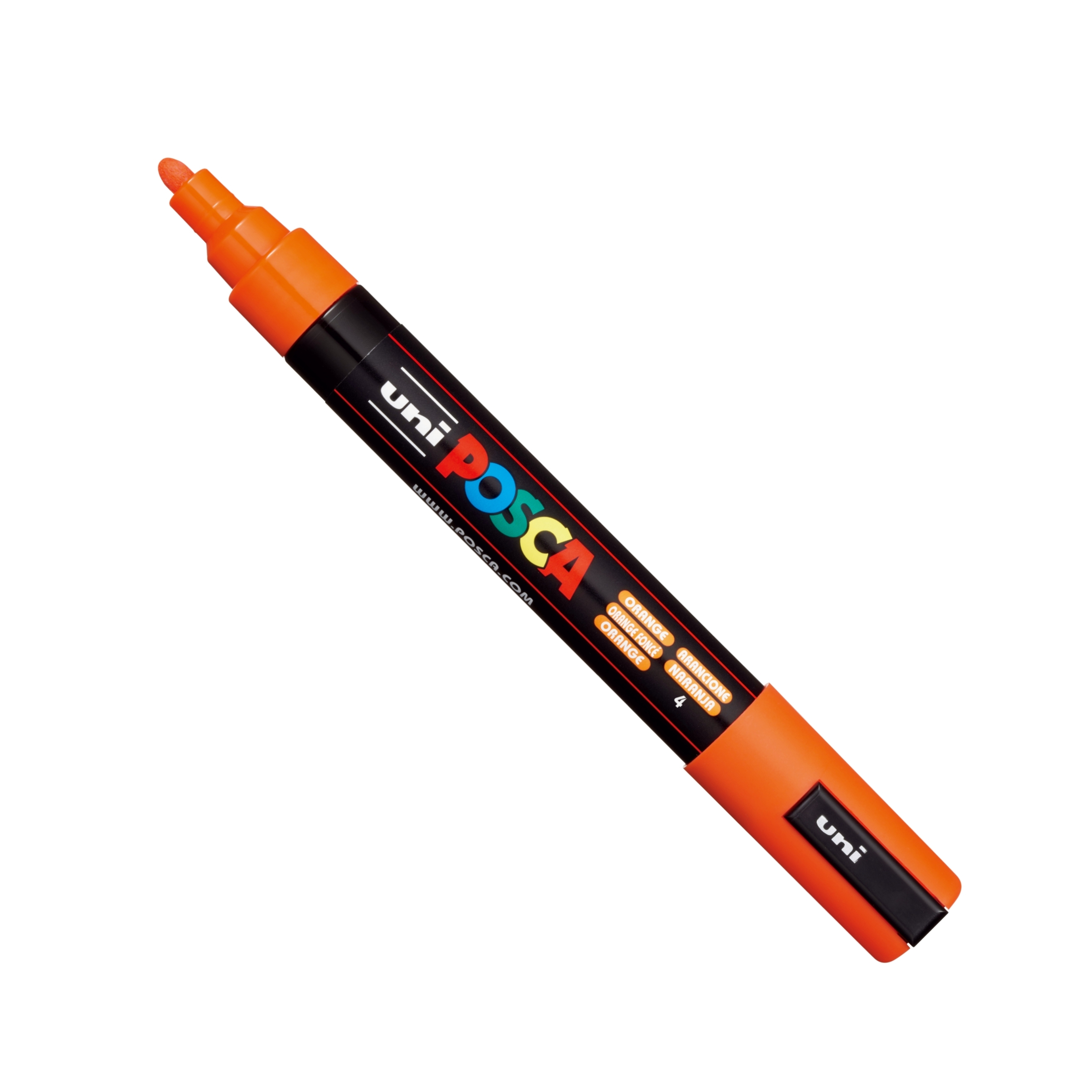Posca PC-5M Marker Med Orange Single Pen