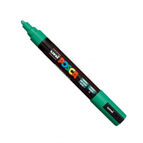 Posca PC-5M Marker Medium Green PK1