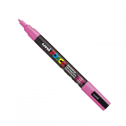 Posca PC-3M Marker Fine Pink PK1
