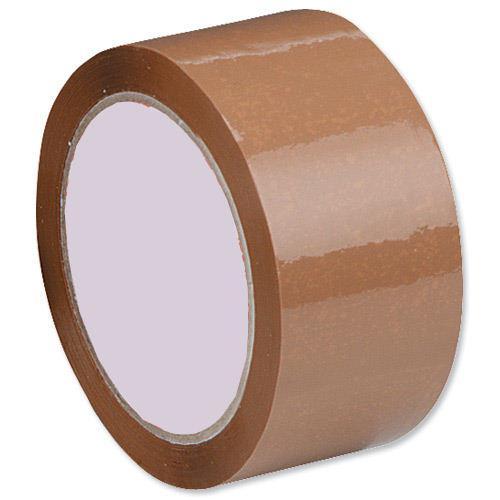 Value Polypropylene Packaging Tape 50mm x66m Buff