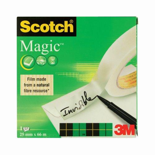3M Scotch Magic Tape 25mm x66m 8102566