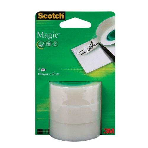 3M Scotch Magic Tape Refill Rolls 19mm x25m