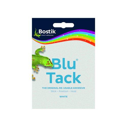 Bostik Blu Tack 60g Handy Size White 801127