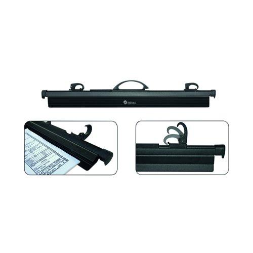 Arnos Hang-A-Plan Front Loader QuickFile Binder A1 Black D200B