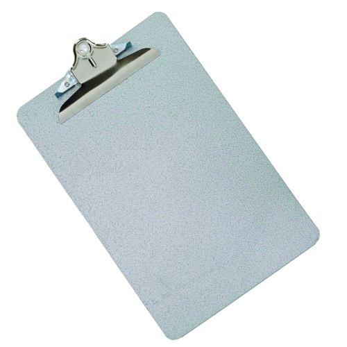 Value Metal Clipboard Foolscap Grey