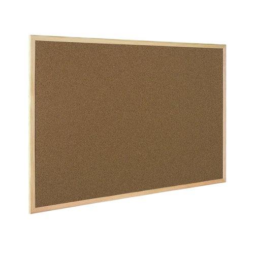 Value Cork Noticeboard 900x600mm