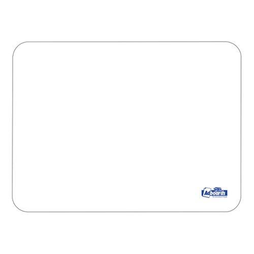 Adboards Plastic Lap Board A4 Plain/Plain (10) JUFP-10A4-99