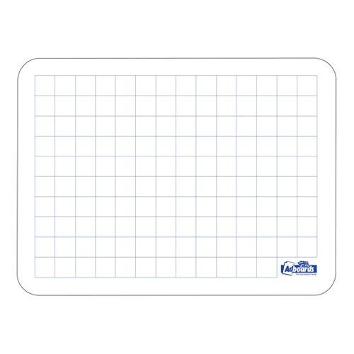 Adboards Plastic Lap Board A4 Grid 20mm/Plain (30) JUFG-30A4-99