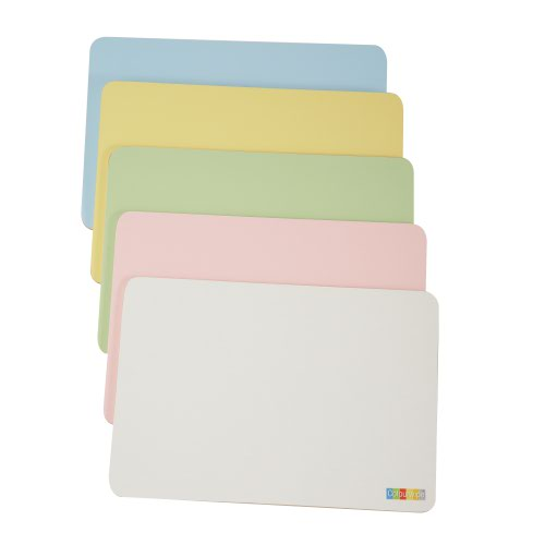 Adboards Colourwipe Board A4 Blue/Cream (5) JUCL-05A4-91