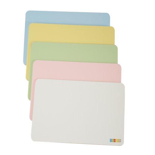 Adboards Colourwipe Board A4 Pink/Cream (5) JUCL-05A4-92