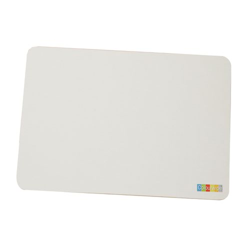 Adboards Colourwipe Board A4 White/White (5) JUCL-05A4-99