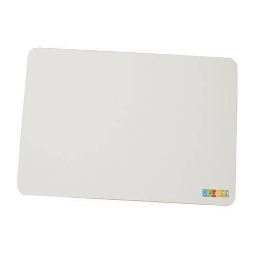 Adboards Colourwipe Board A4 White/White (30) & Accessories JUCL-30A4-99