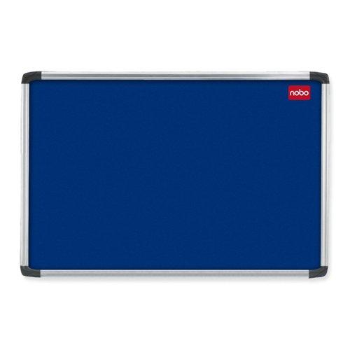 Nobo Prestige Noticeboard Aluminium Frame 900x600mm Blue 30230174
