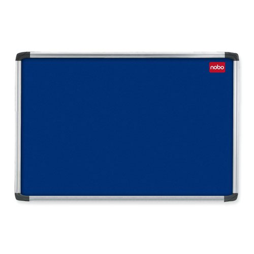 Nobo Prestige Noticeboard Aluminium Frame 1200x900mm Blue 30230175