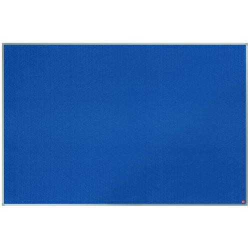 Nobo Classic Felt Noticeboard Aluminium Frame 1800x1200mm Blue 1900982