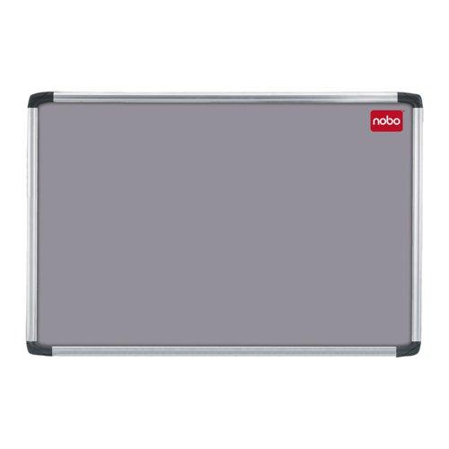 Nobo Prestige Noticeboard Aluminium Frame 1200x900mm Grey 30230158