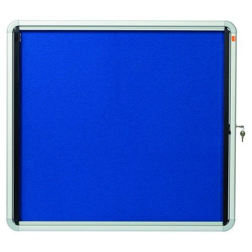 Nobo Blue Felt Glazed Internal Show Case 6xA4 1902555