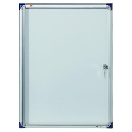 Nobo Extra Flat Glazed Case 4xA4 550X735mm 1900846