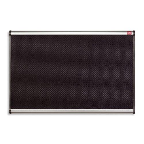 Nobo Prestige Foam Noticeboard 1200x900mm Black QBPF1290
