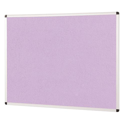 Metroplan ColourPlus Noticeboard 1800x1200mm Lilac PS1812/LC