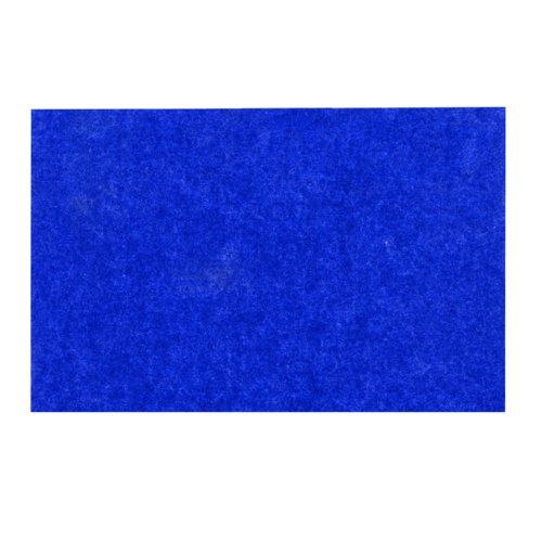Adboards Eco-Sound Frameless Blazemaster Board 1200x900mm Blue NUES-1209-BL
