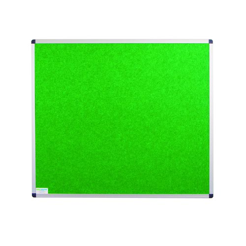 Adboards Eco-Sound Aluminium Frame Blazemaster Board 1200x1200mm Green NCES-1212-GN