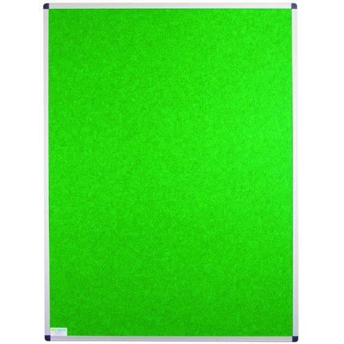 Adboards Eco-Sound Aluminium Frame Blazemaster Board 1800x1200mm Green NCES-1812-GN