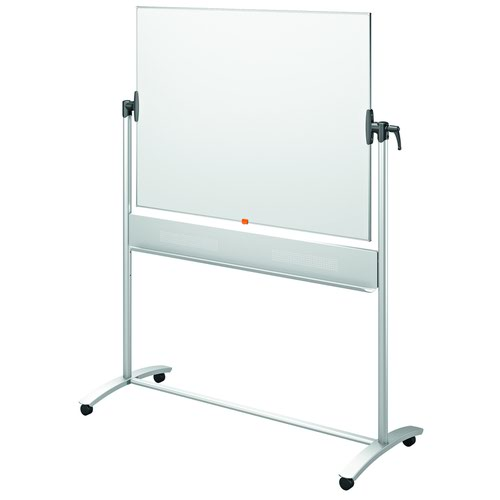 Nobo Enamel Mobile Whiteboard 1200x900mm 1901033