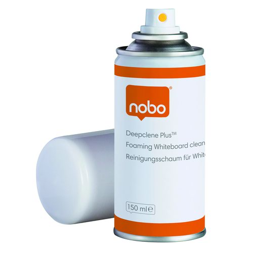 Nobo Glass Whiteboard Cleaning Aerosol Foam 150ml 34538408