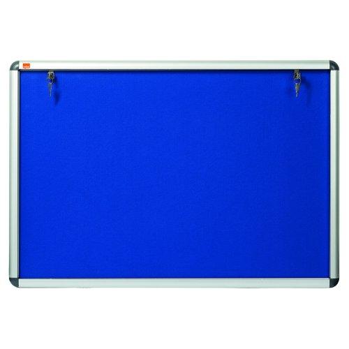 Nobo Visual Insert Noticeboard A1 907x661mm Blue 1902048