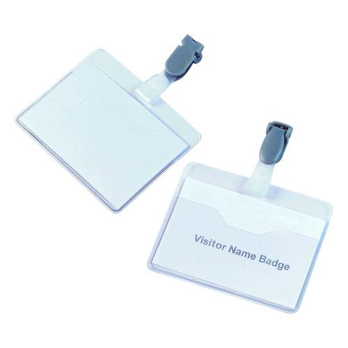 Value Visitor Badge 90x60mm (25)