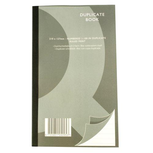 Value Duplicate Book 210x127mm