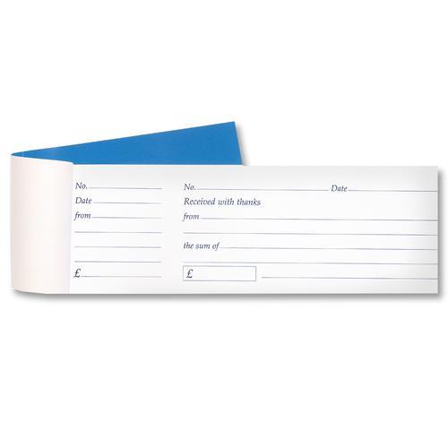 Value Cash Receipt Book Counterfoil 80sheets