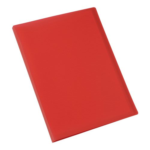 Value Soft Cover Display Book 20 Pocket Red