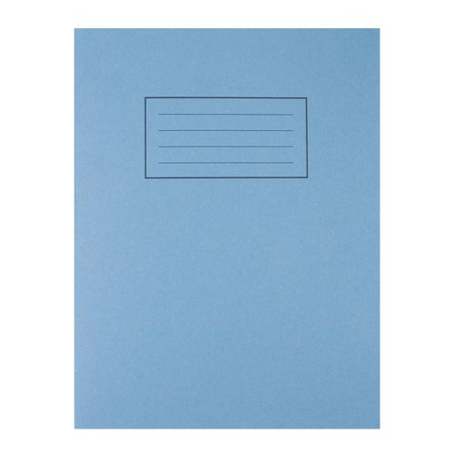 Silvine Exercise Book 80pages Ruled & Margin 229x178mm Blue EX104